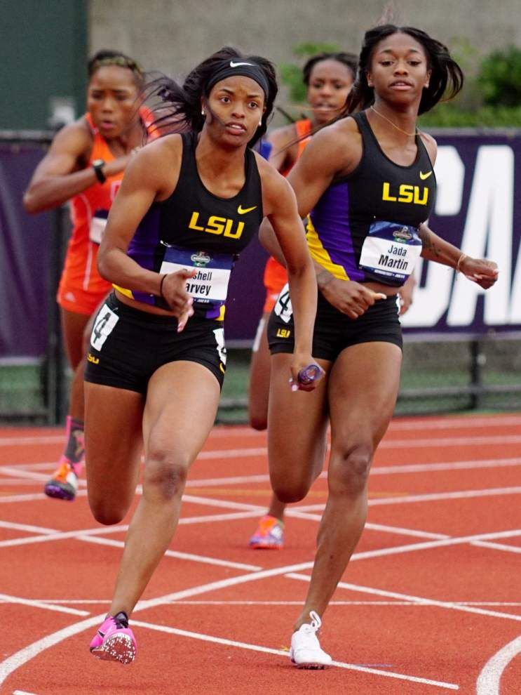 lsu indoor high school track meet