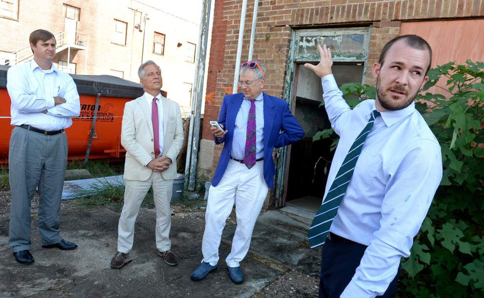 Planning team tours Government Street redevelopment site _lowres