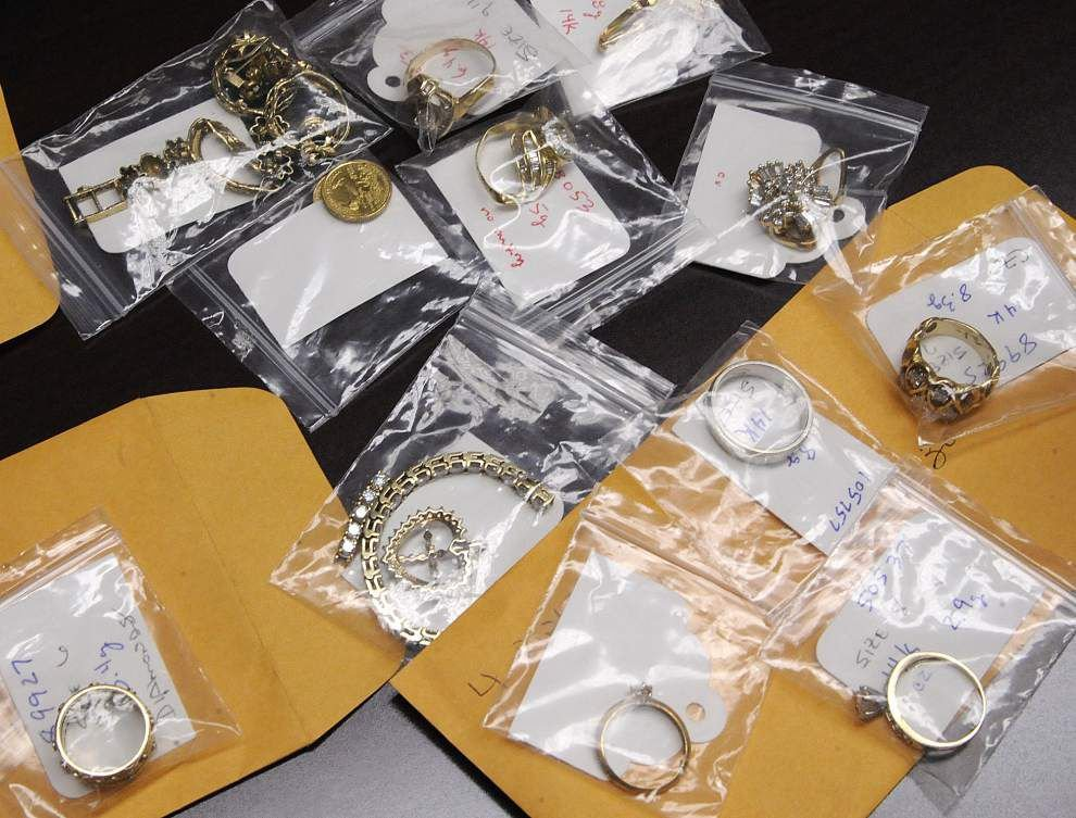 Lafayette digging into police evidence locker to auction unclaimed jewelry, rare coins _lowres