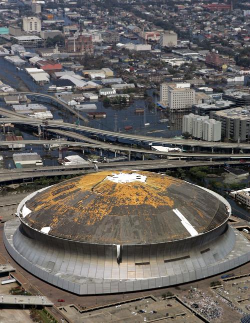 Superdome during Katrina | | theadvocate.com