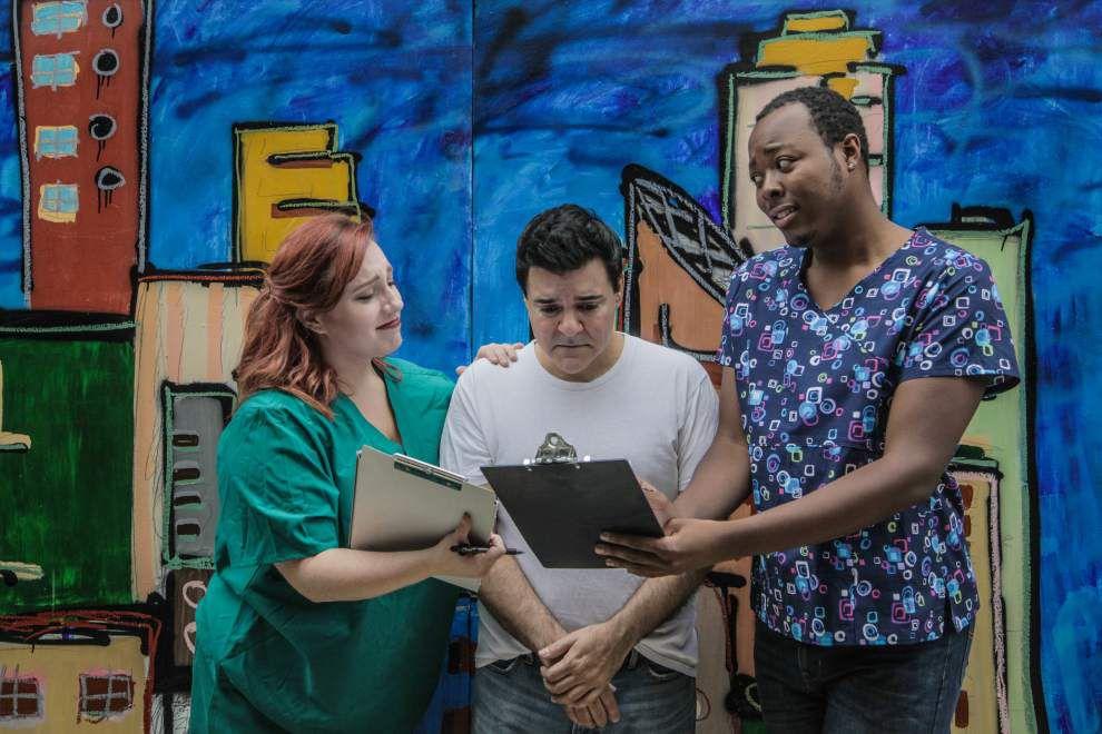 Offbeat play 'New Brain' at Kajun's Pub celebrates life's second chances _lowres