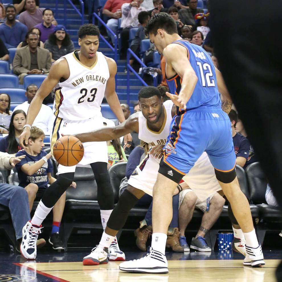 Video: Pelicans forward Anthony Davis says preseason games all about the team improving _lowres