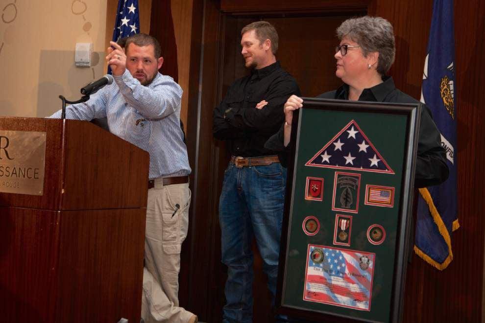The generosity, warmth of 'American Sniper' Chris Kyle helped Denham Springs vet _lowres