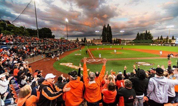 What's it like at Oregon State's baseball stadium