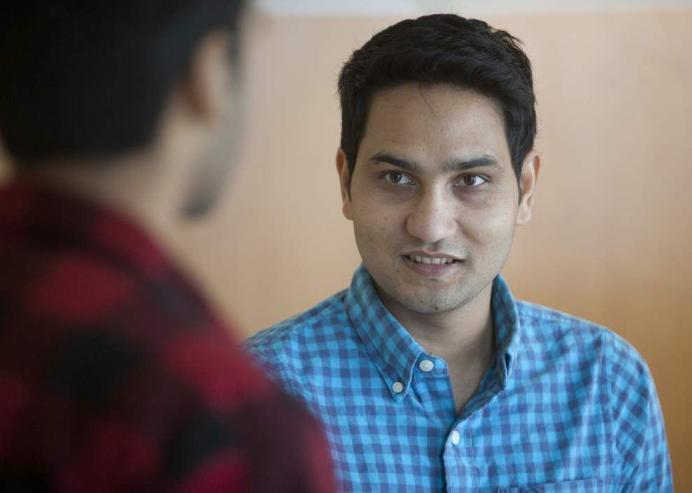 Nepalese students at Southeastern Louisiana University spring into action to help country wracked by earthquake _lowres