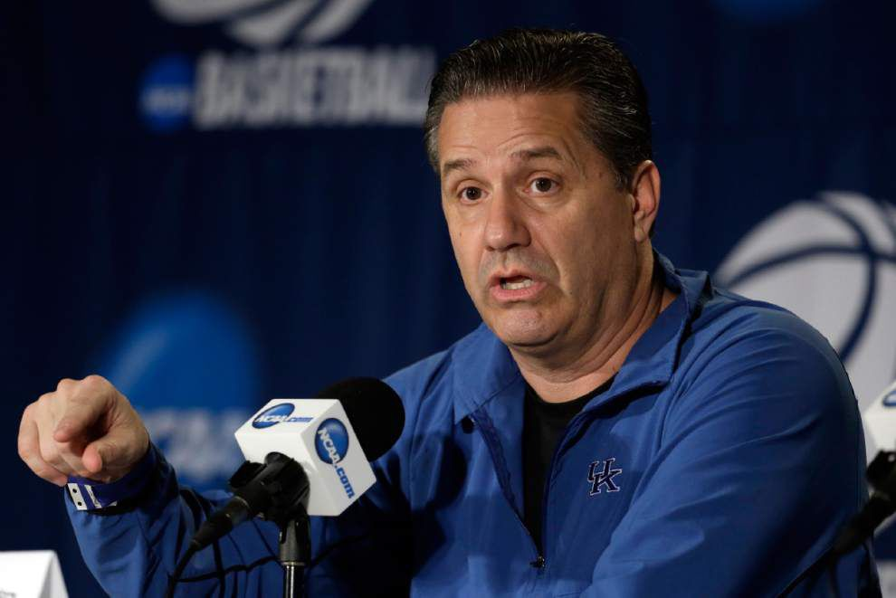 John Calipari says he's not interested in Pelicans job _lowres