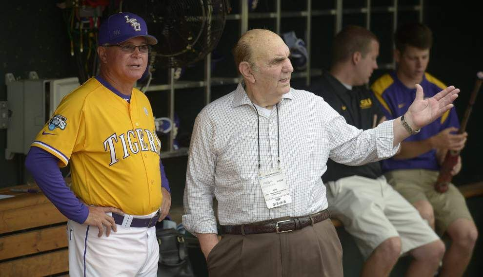 LSU Athletic Hall of Fame Committee approves statue of former baseball coach Skip Bertman _lowres