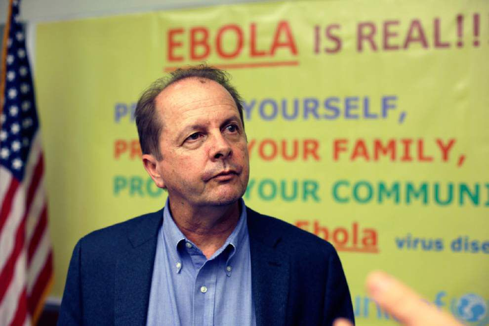 Health officials say little chance of Ebola outbreak in N.O. _lowres