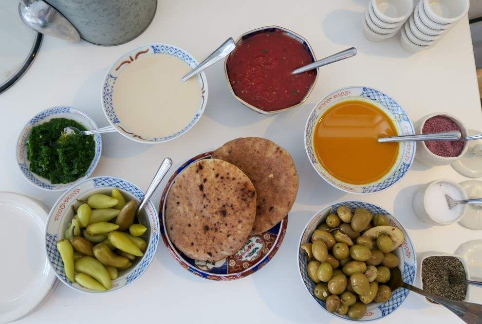 At Tal's Hummus, Israeli street food on Magazine Street _lowres
