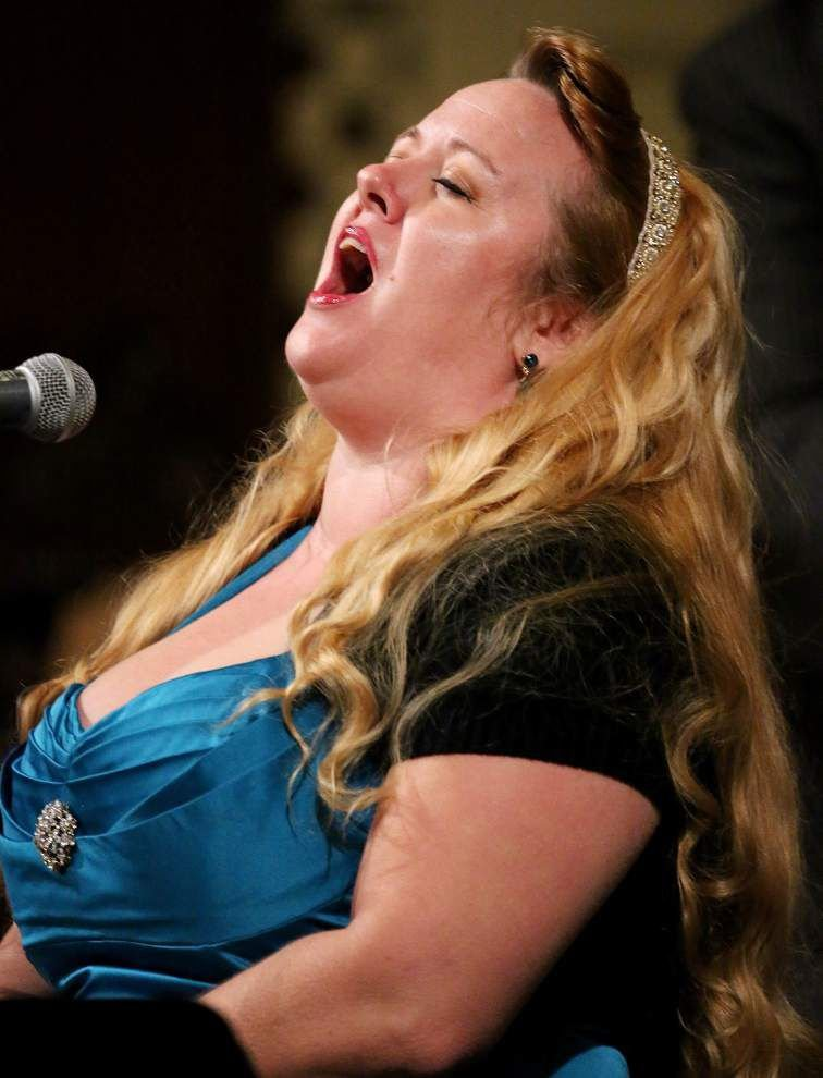 Photos: Debbie Davis and Friends performs at St. Louis Cathedral as part of Christmas New Orleans Style _lowres