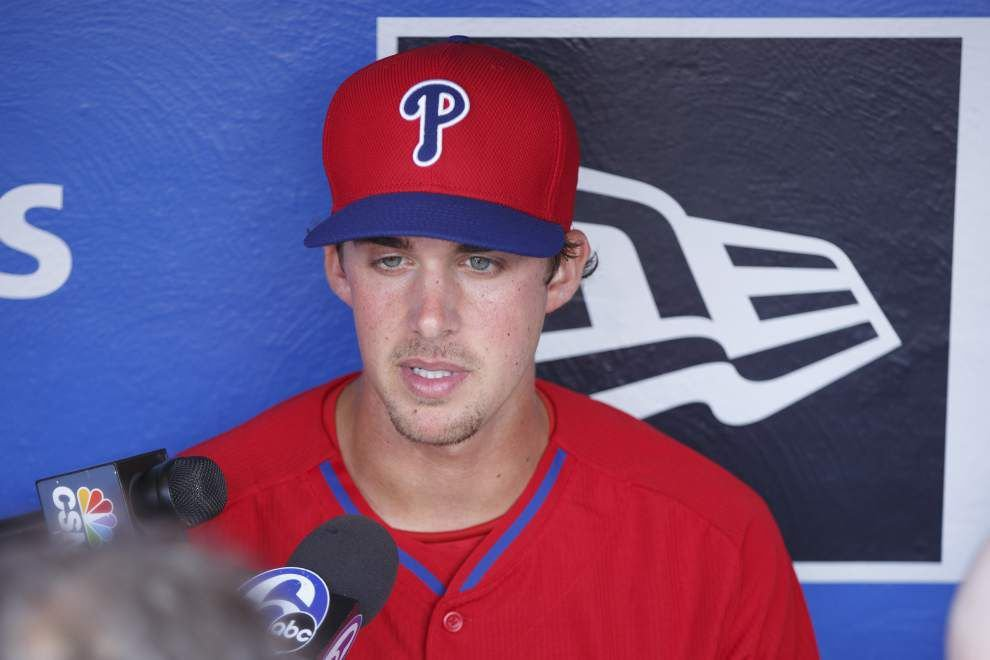 Ex-LSU, Catholic High ace Aaron Nola to make MLB debut Tuesday with Philadelphia Phillies _lowres