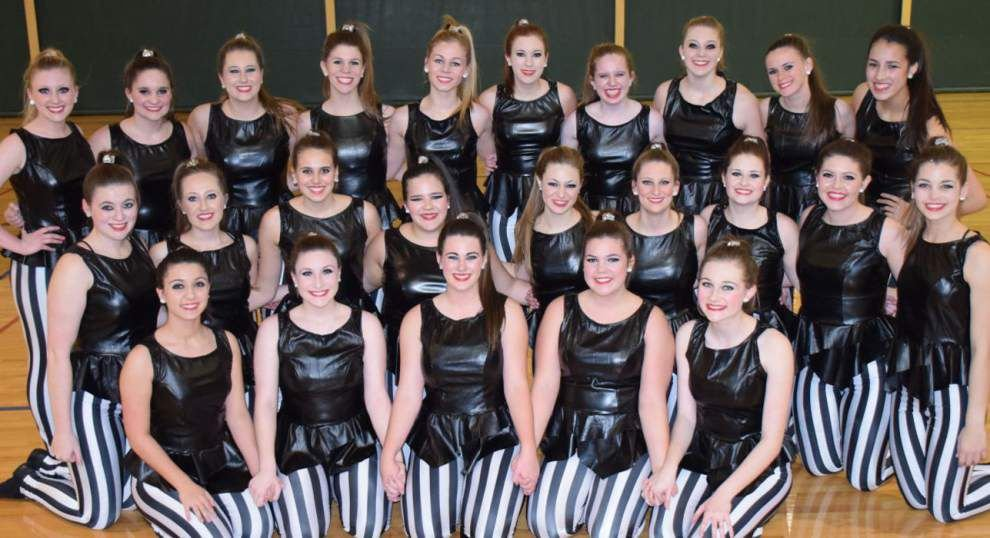 Mount Carmel Academy Rhythm dance team has strong performance in state competition _lowres