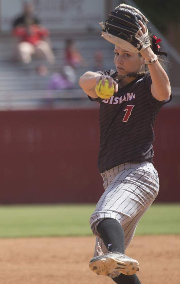 Locked-in Ragin' Cajuns softball team crushes Georgia State in doubleheader _lowres