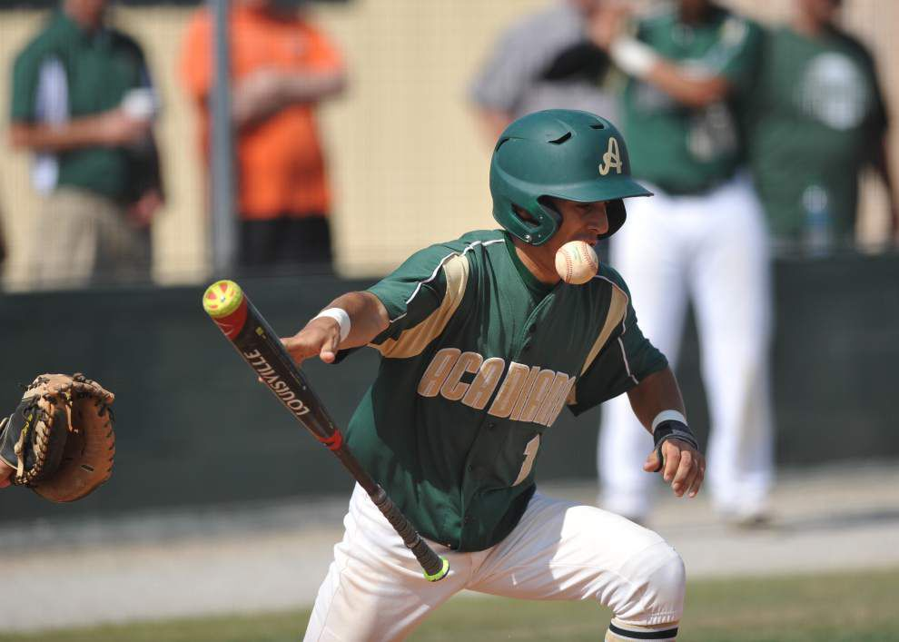 LHSAA baseball playoffs: Acadiana holds off Dutchtown for 2-1 victory _lowres
