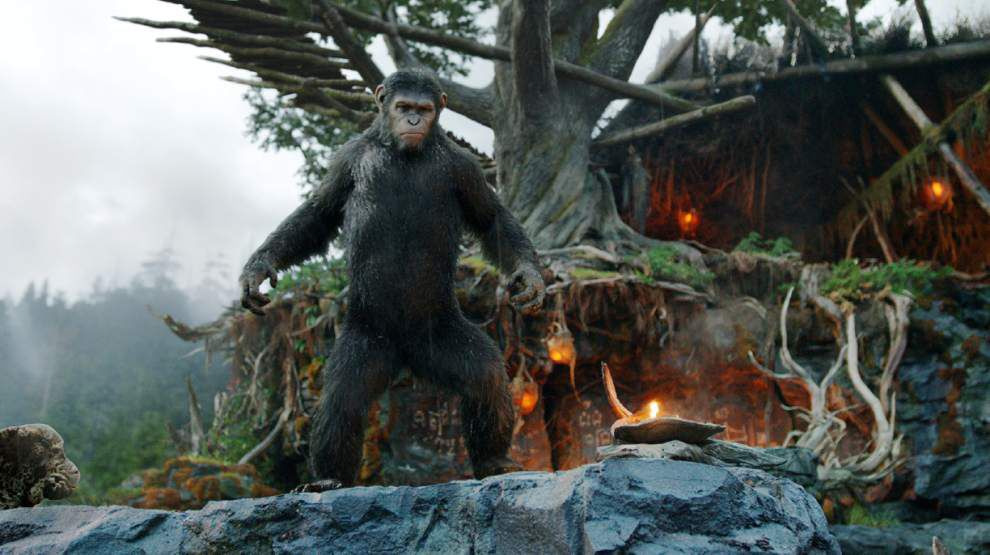 'Planet of the Apes' thumps chest with $73M debut _lowres