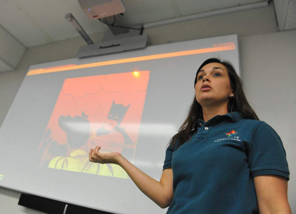 Lafayette Parish School System chosen to test new classroom interactive technology _lowres