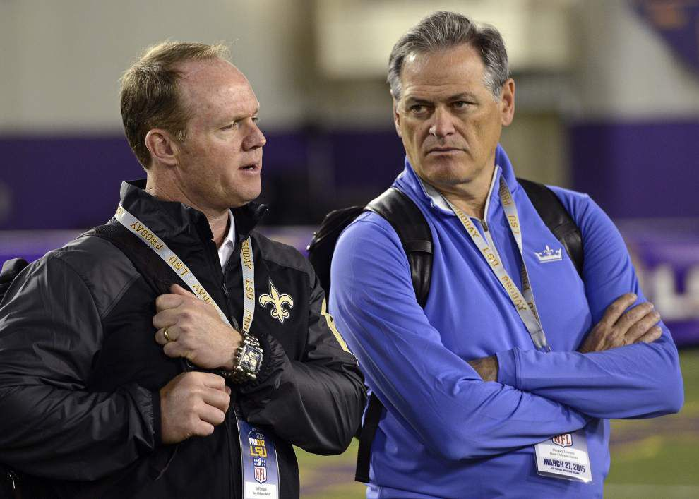 How Jeff Ireland's tenure with the New Orleans Saints began with a text message: 'Keep me in mind' _lowres