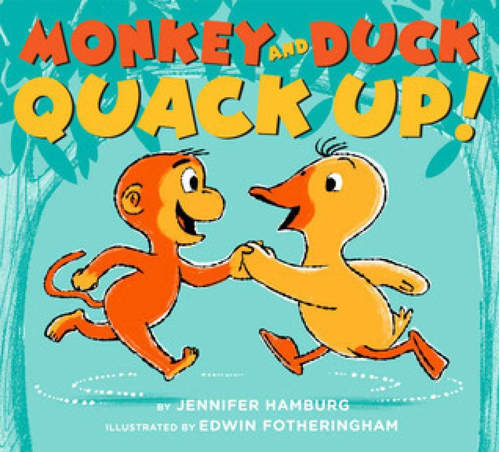 'Monkey and Duck' fun for the kids _lowres