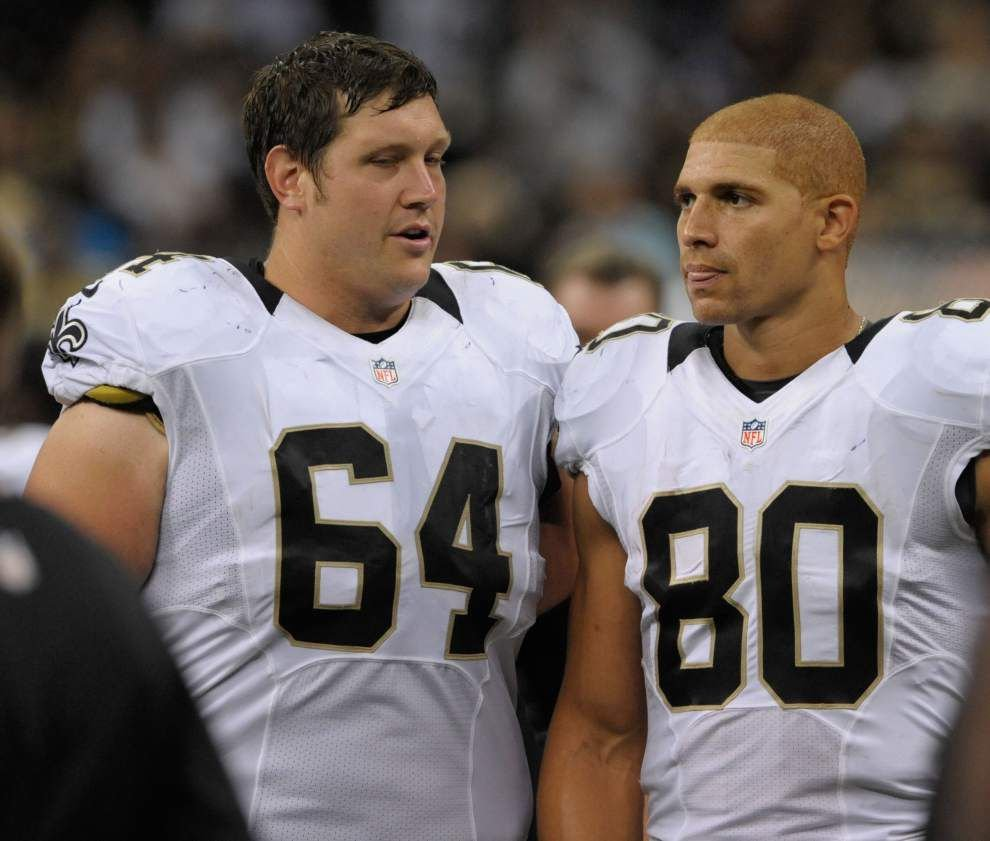 Zach Strief says pregame atmosphere convinced him the Saints would struggle against Carolina _lowres