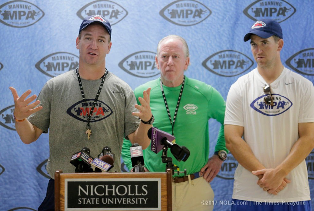 Archie Manning: Nicholls State renovations ensuring Manning Passing Academy unaffected by storm