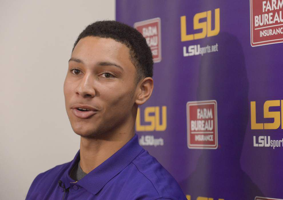 LSU's heralded basketball freshmen Ben Simmons, Antonio Blakeney, Brandon Sampson raising expectations, and one's talking national championship _lowres