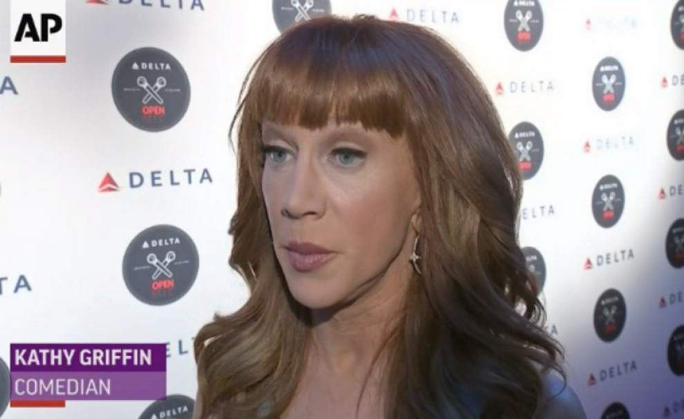 Kathy Griffin challenges Nicki Minaj to 'booty off' _lowres
