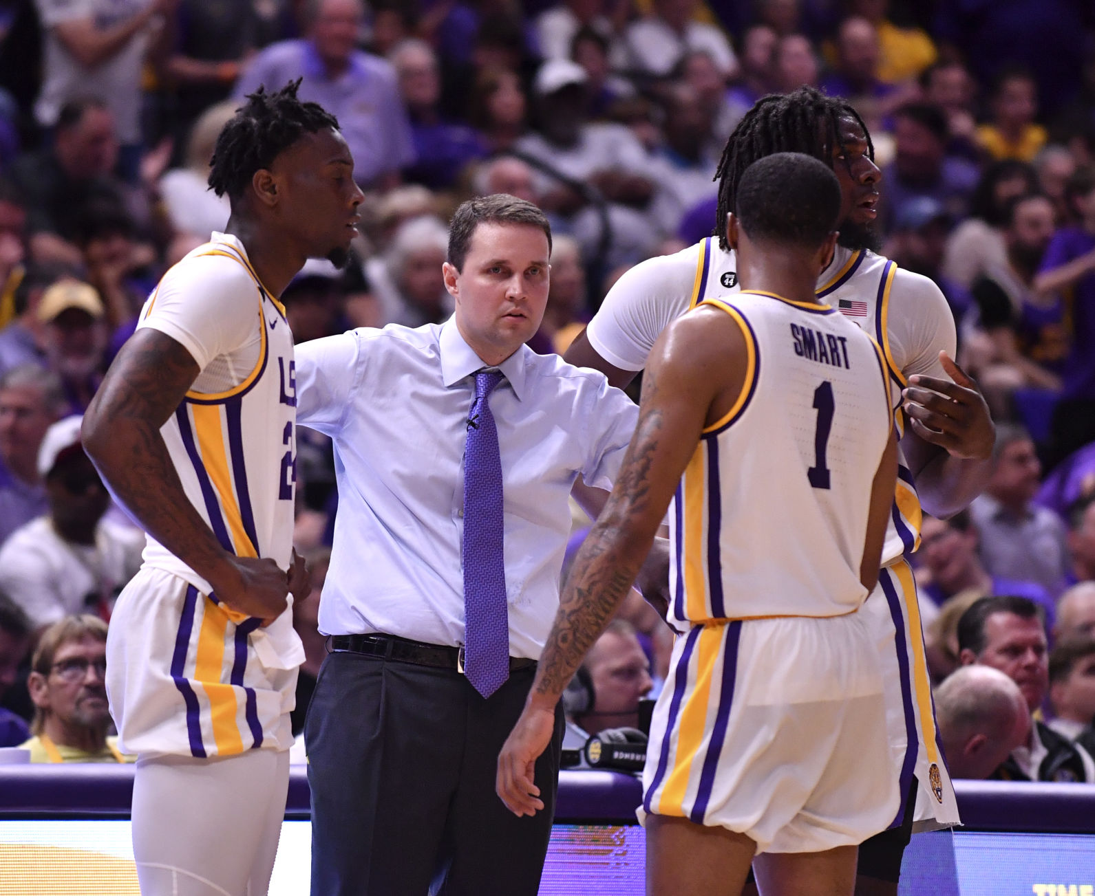 LSU's Javonte Smart on 'middleman' Shannon Forman in Will Wade ...