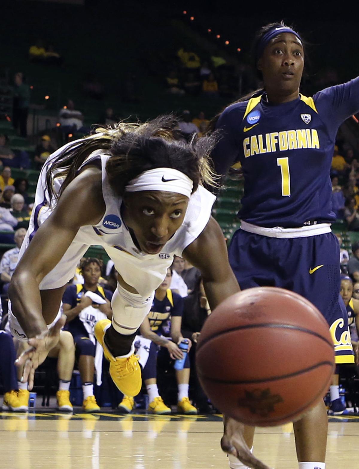 APTOPIX NCAA California LSU Basketball