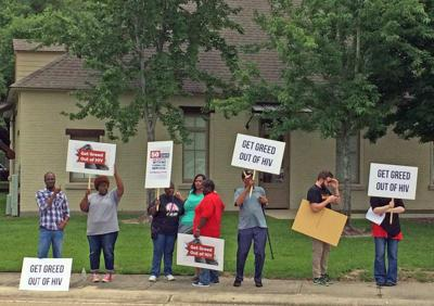 UPDATE: HIV healthcare group's lawsuit over funding settled, suit spurred protest Tuesday _lowres