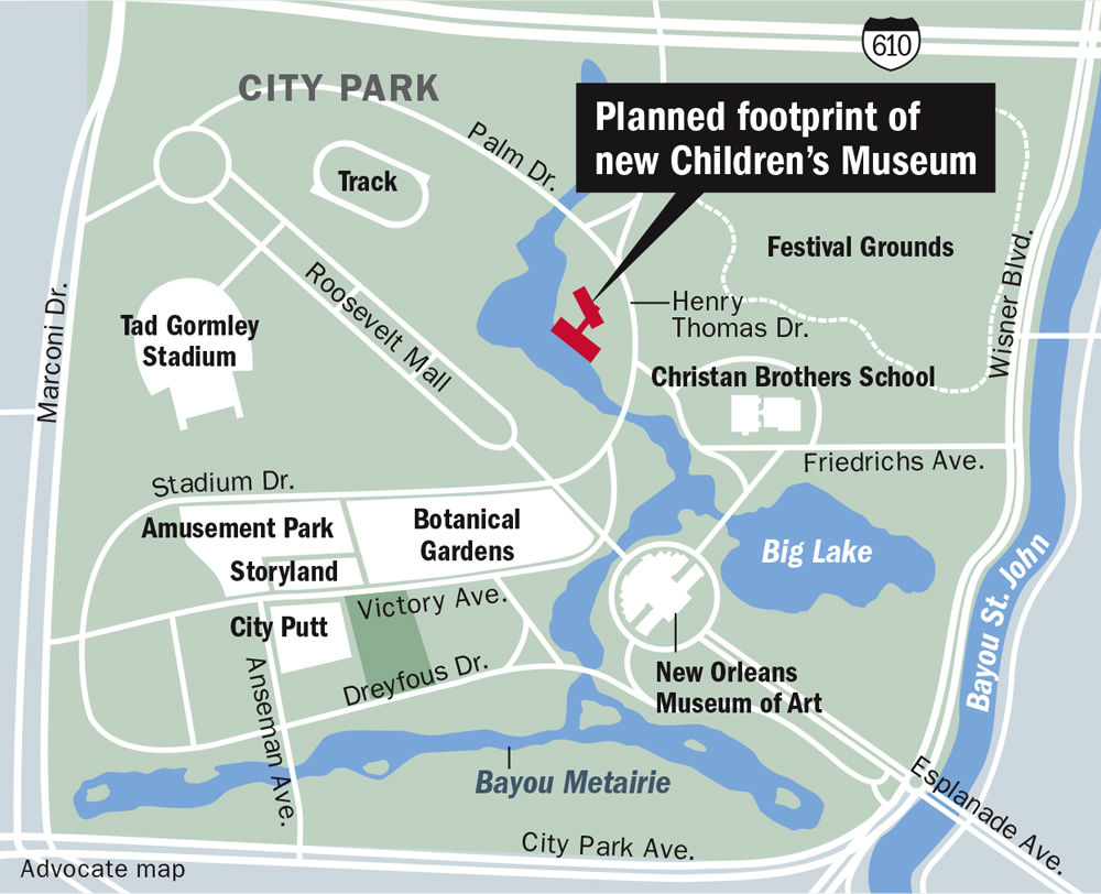 Louisiana Childrens Museums new City Park home moving closer to