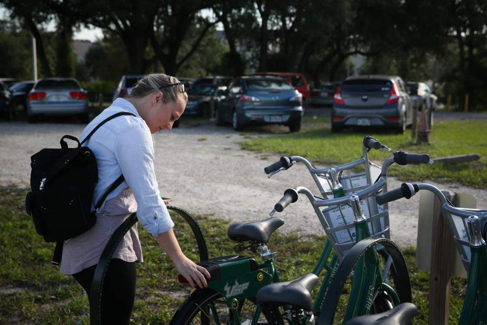 Report sees potential for Baton Rouge bike-sharing program, but also obstacles _lowres