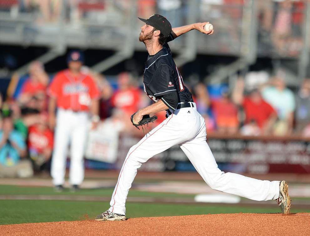 Cajuns pitcher Austin Robichaux comes up aces _lowres