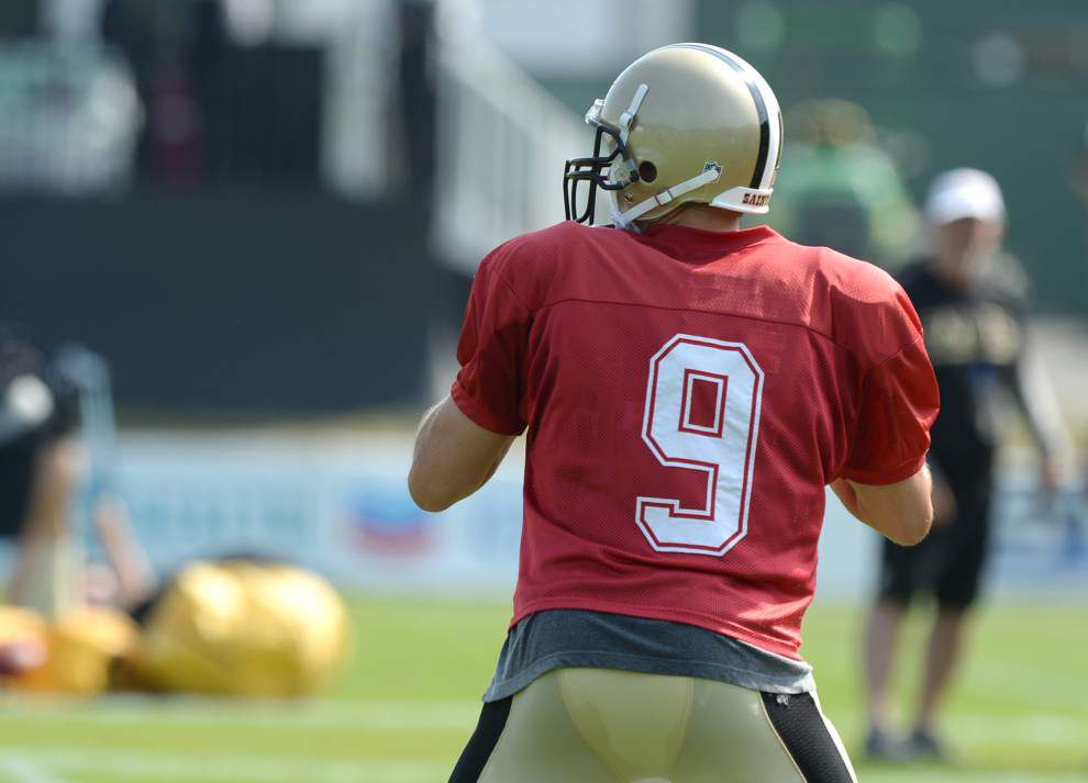 Reports during the Saints' Friday practice (Aug. 1) _lowres