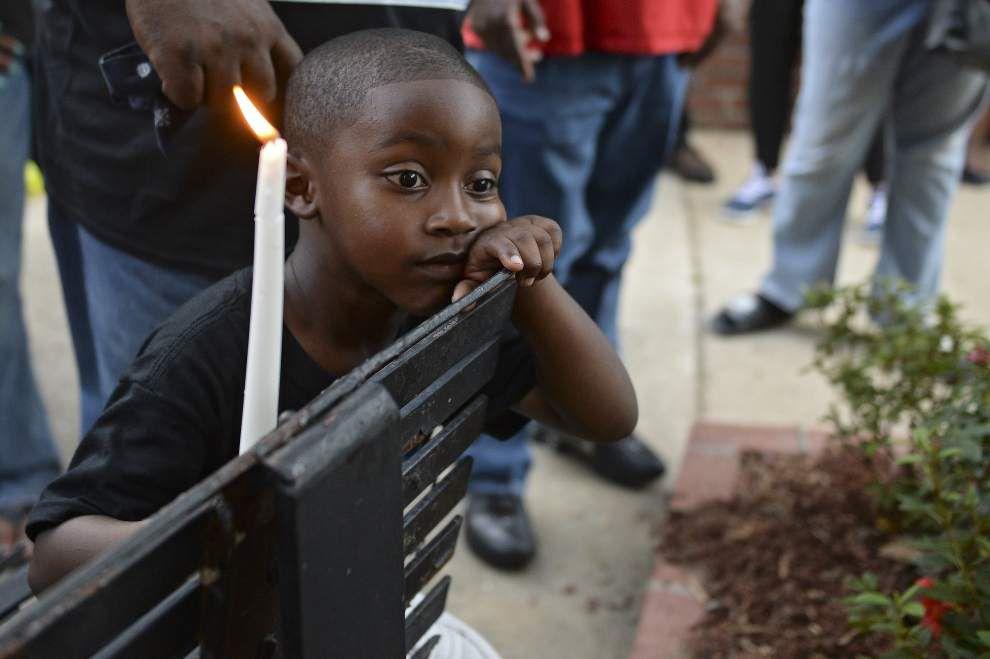 Candlelight vigil held in memory of Brandon Augusta _lowres