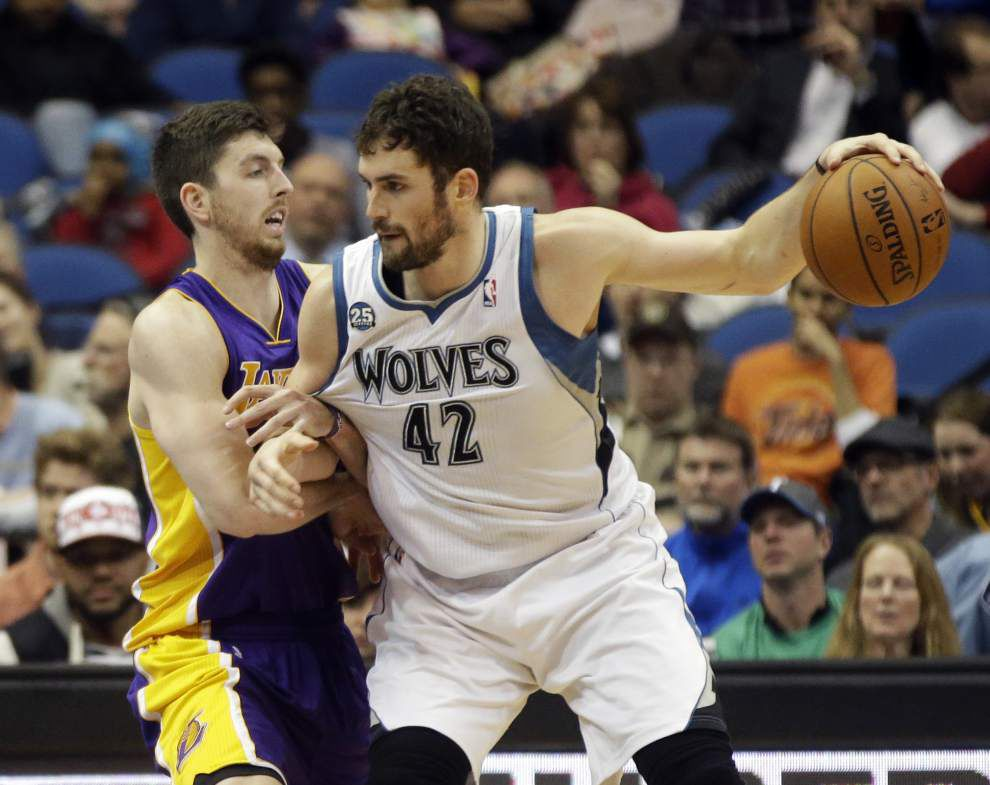 Report: Cavaliers, Wolves set to make Kevin Love-Andrew Wiggins deal _lowres
