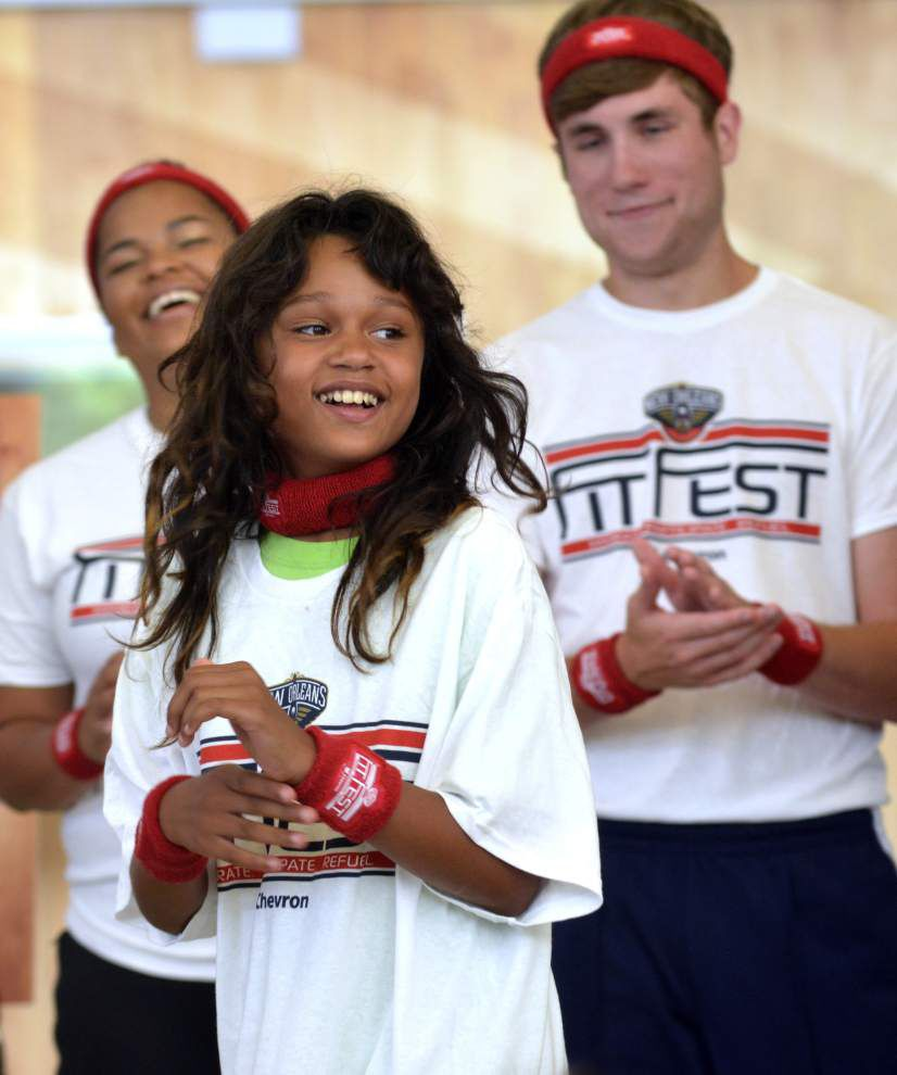 Boys and Girls campers get tips for health _lowres