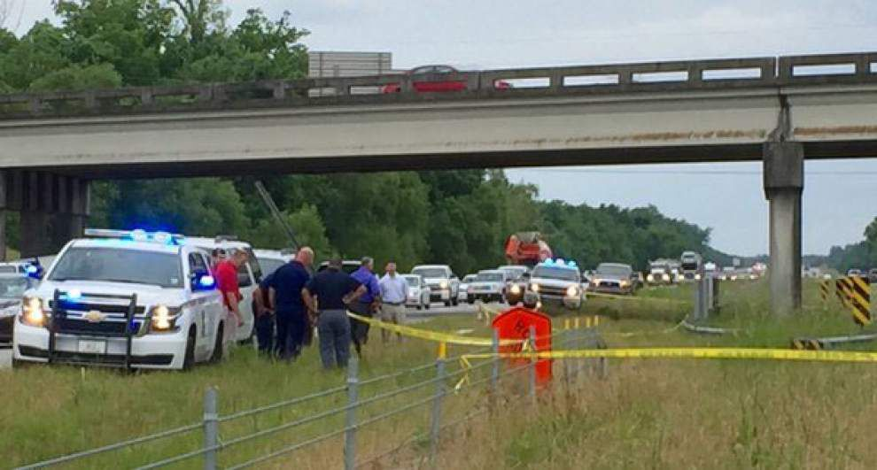 Body found on I-10 median in Ascension Parish, sheriff said looks like person is a victim of a hit and run _lowres
