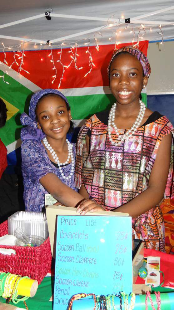 Arden Cahill Academy history students bring variety to International Bazaar _lowres