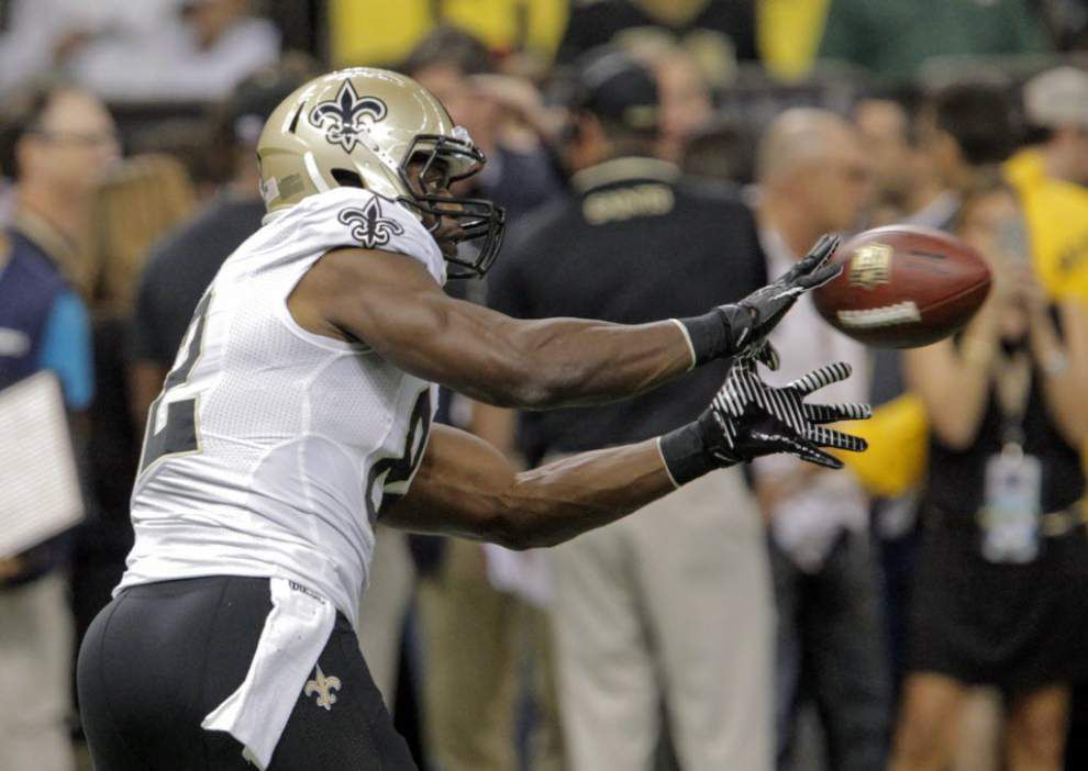 Saints tight end Benjamin Watson wrote in facebook essay that his heart goes out to the city of Baltimore _lowres
