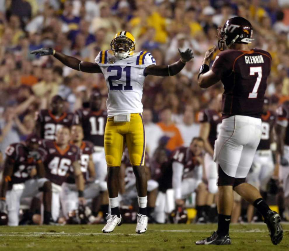 """Former LSU cornerback Chevis Jackson returns as an """"analyst,"""" Tigers confirm hiring of Ryan Pugh as an offensive quality control assistant _lowres"""