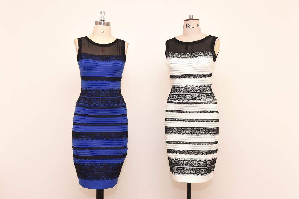 Debates rage over color of dress photographed in rare light _lowres