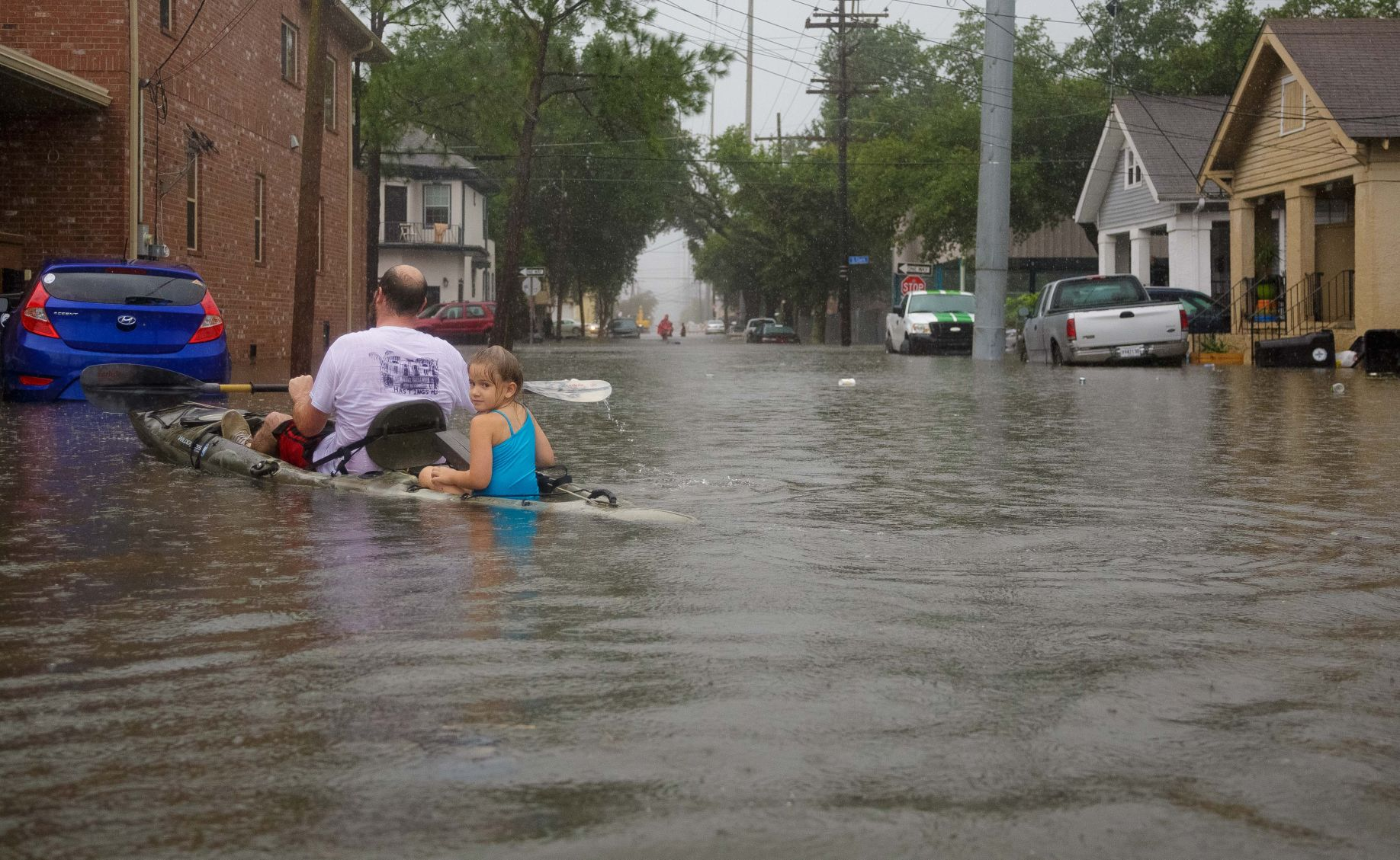 New Orleans Floods as Rain Overcomes Pumps