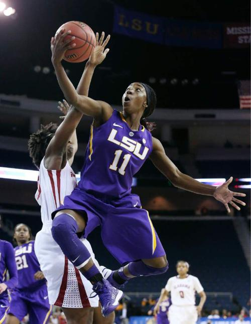 LSU women defeat Tide 78-65 in SEC basketball tournament _lowres