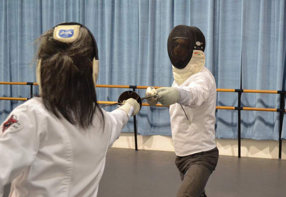 Fencing exhibition will bring a slice of New Orleans history to life _lowres