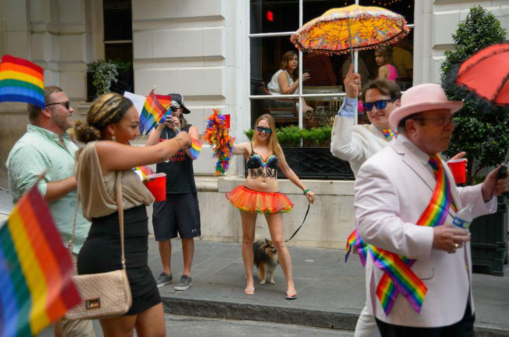 Lafayette couple ties the knot during Southern Decadence fest in New Orleans _lowres