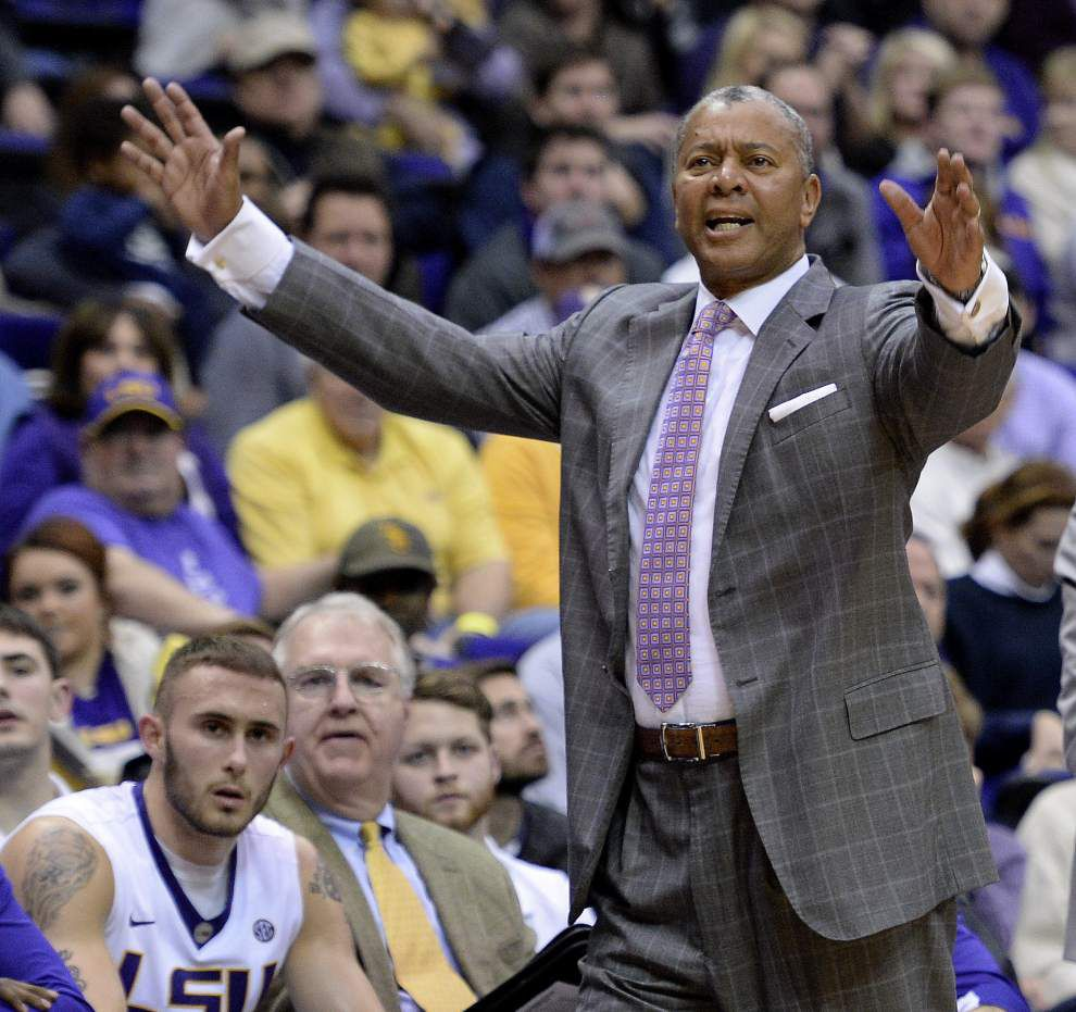 Rabalais: Despite constant ADD, LSU basketball 'perfectly capable' of upsetting No. 1 Oklahoma _lowres