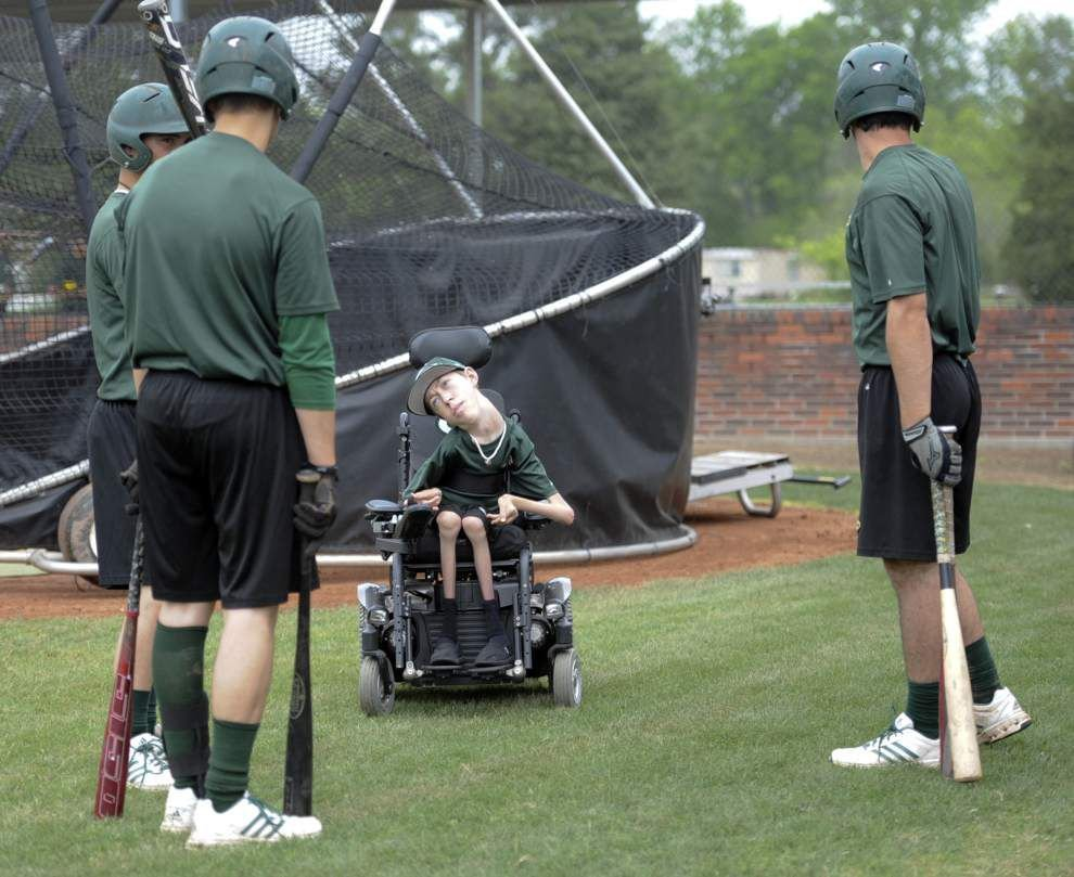 Shae Stelly is part coach, part inspiration — and a pivotal member of the Cecilia baseball team _lowres
