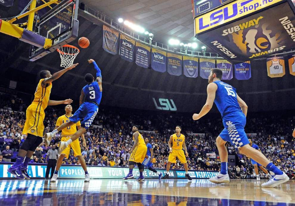 Final: LSU basketball now 8-2 in SEC after 88-77 win over Mississippi State _lowres