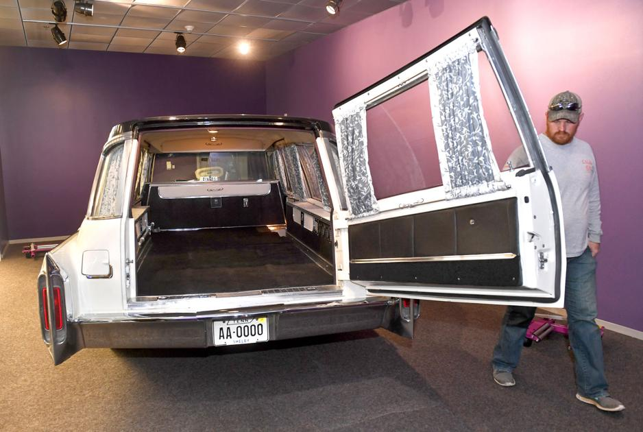 Hearse that carried the body of Martin Luther King Jr. comes to Baton Rouge