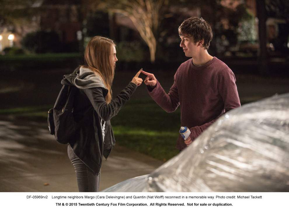'Paper Towns' hits the right   John Hughes-inspired notes _lowres